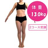 持っているパンツがパッツパツ!スッと履きたい!10kg痩せたい!(65日間×2コース受講)/43歳・世田谷区在住